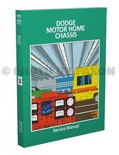 1980-1981-1982 Dodge Motor Home Repair Manual Motorhome Shop Service M300-M600