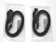"""4 PCs Gigabyte Gaming 18"""" SATA3 6GB Fast Data Cable Right Angle with Metal Latch"""