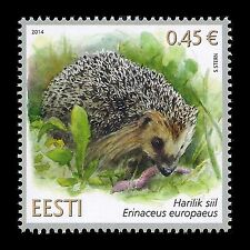 "Estonia 2014 - Estonian Fauna ""Hedgehog"" Wild Animals - MNH"