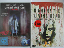bitterböser Horror Sammlung - Cradle will Fall & Zombie Night of the Living Dead