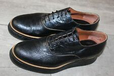 $750 Dries van Noten  Leather Derby Oxfords Opening Ceremony gr.38