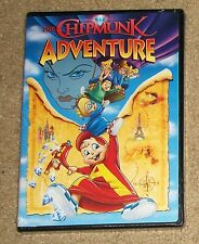 Alvin and the Chipmunks The Chipmunk Adventure DVD New