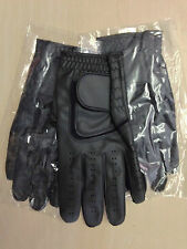 Job lot 50 JL black Golf plain all weather synthetic gloves Size medium
