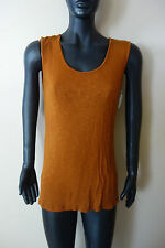 MIRACLEBODY BY MIRACLESUIT SLEEVENES Brun Orange S BODY SHAPING TOP SIZE S NWT