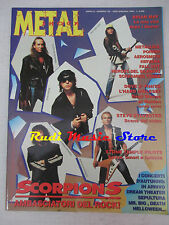 rivista METAL SHOCK 152/1993  Scorpions Brian May Nirvana Poison Aerosmith No cd