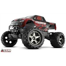 Traxxas Stampede 4x4 VXL 1:10 RTR 2.4G TQi w/TSM Brushless RC OFF ROAD TRUCK