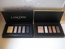LANCOME SET of TWO 5 Color Shadow+Liner Palettes~WARM DAY & NIGHT Eyeshadow~ NEW