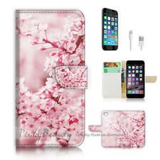 iPhone 7 (4.7') Flip Wallet Case Cover P2331 Sakura