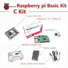 Raspberry Pi 3 Model B Basic C Kit Raspberry pi case power supply sink heat
