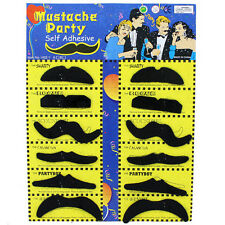 Fake Mustache Mexican Scouser Stylish Costume Funny Fancy Dress Party