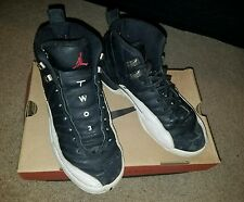 Air Jordan 12 XII OG 'Playoff' Black/Red-White-Silver '97 Sz 6 yth