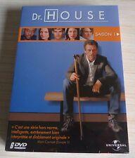 COFFRET 6 DVD PAL DR HOUSE INTEGRALE SAISON 1 NEUF SOUS CELLO ZONE 2