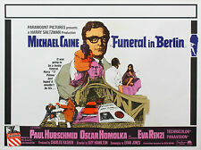 "Funeral in Berlin 1966 16"" x 12"" Reproduction Movie Poster Photograph"