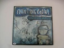 Counting Crows Band Autographed Signed Somewhere Under Wonderland Vinyl PSADNA