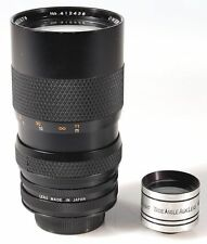 40-85MM F3.5 LENS FOR MINOLTA MC W/ WIDE ANGLE LENS   REAR CAP
