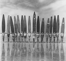 "antique vintage SURF PHOTO SURFING BEACH black white  CANVAS 42""wide,39"" high."