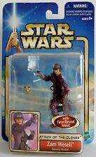 ZAM WESELL Star Wars Episode II Attack of the Clones Movie Figure 2001