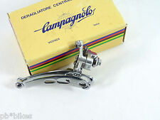 Campagnolo Nuovo Record Front Derailleur NOS Braze on Vintage RAcing Bicycle NOS