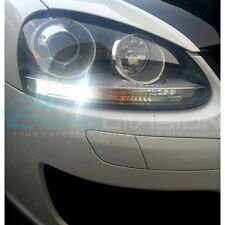 Volkswagen Golf MKV Day Running Lights Premium White Error Free LED Bulbs GTI R3