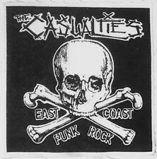 THE CASUALTIES east coast punk rock CLOTH PATCH sew on, hardcore *FREE SHIPPING*