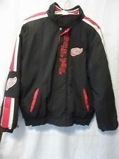 Detriot Red Wings Jacket Coat Starter XL Youth NHL Logo