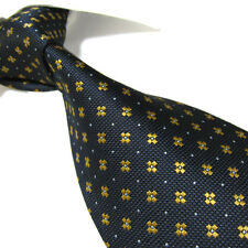 Extra Long Polyester Woven Tie,Microfibre Navy Blue Men's  XL Necktie PL361 63""