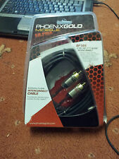 PHOENIX GOLD SF1R5 INTERCONNECT PROFESSIONAL PHONO RCA LEADS CABLES COMPETITION