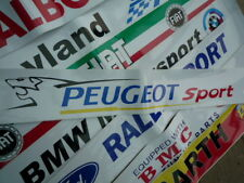 PEUGEOT SPORTRace & Rally car Screentop Sunstrip decal