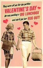 Funny Retro Valentine's Day Picnic Greeting Card Humour Valentines Cards