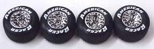 American Racer Tires for 1/24 Scale model racecars rubber style with tread