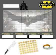 Batman Behaviour Reward Reusable Chart (A4 FREE~Stickers Pen Adhesive Pads)