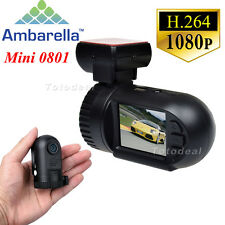 NEW Ambarella A2S60 Mini 0801 HD 1080P Car Dash Camera Crash DVR GPS Logger HDMI