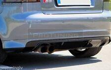 Audi A3 8P 03-12 Rear Bumper spoiler S line lip Valance addon S-line abt rs3 s3
