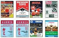 West Ham 1975 FA Cup Programme Trading Card Set