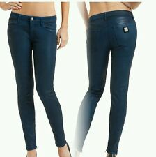 GUESS BY MARCIANO BLUE The Skinny Leatherette Jean No. 68 SIZE 23