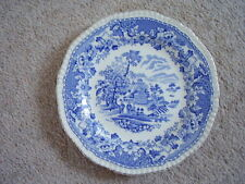 Seaforth,England blue and white porcelain  plate