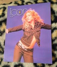 "Madonna ""icon"" official fan club magazine no 28 From 1998 Very Rare Queen Of Pop"