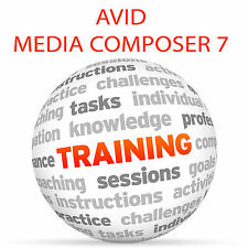 Avid Media Composer 7-Video Tutorial DVD de entrenamiento