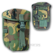MILITARY  BRITISH ARMY PLCE TYPE DPM CAMO WATER BOTTLE POUCH WEBBING CADET