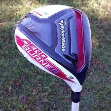 TaylorMade Aero Burner AEROBURNER 3 Fairway Wood 15 Degree Stiff Flex Matrix!