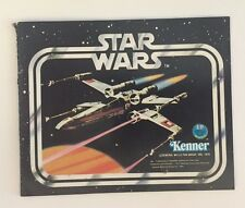 STAR WARS Early Issue BLACK KENNER 12pg TOY CATALOG Insert 1977 - 1978 RARE