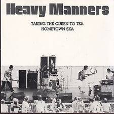 "heavy manners hometown ska 7"" chicago 1981 kbd signed by band"