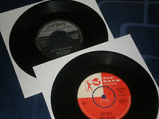SANDY NELSON - BARGAIN JOB LOT OF 2 CLASSIC HIT SINGLES -  EXC. COND.