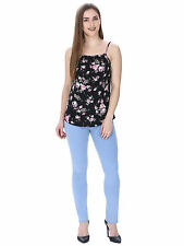 Kalava Cotton Casual L Size Black Colour Top for girls/women