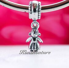 Authentic Pandora My Little Girl Sterling Silver Charm 790860