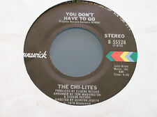 The Chi-Lites,You Don't Have To Go (USA Import On Brunswick 1976)