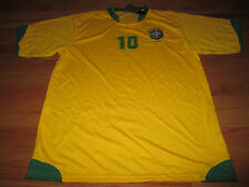 SPORTS 2006 World Cup RONALDO de ASSIS MOREIRA No. 10  BRAZIL (XL) Jersey w Tags
