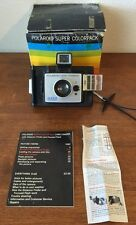 Vintage Polaroid Land Camera Super Colorpack With Distance Finder And Focused