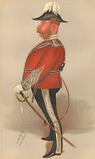 1889 ORIGINAL VANITY FAIR PRINT ~ THE NITRATE KING CAPTAIN JOHN THOMAS NORTH SPY