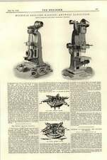 1894 Multiple Drilling Machine Antwerp Exhibition Phoenix Habersang Dry Steam